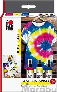 Marabu- Fashion-Spray clasificador Tie Dye, 3 x 100 ml,