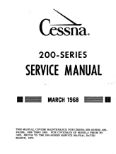 Cessna 200-Series Service Manual March 1968