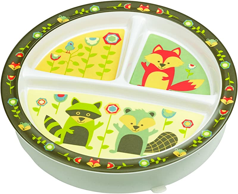 Sugarbooger Divided Suction Plate What Did The Fox Eat