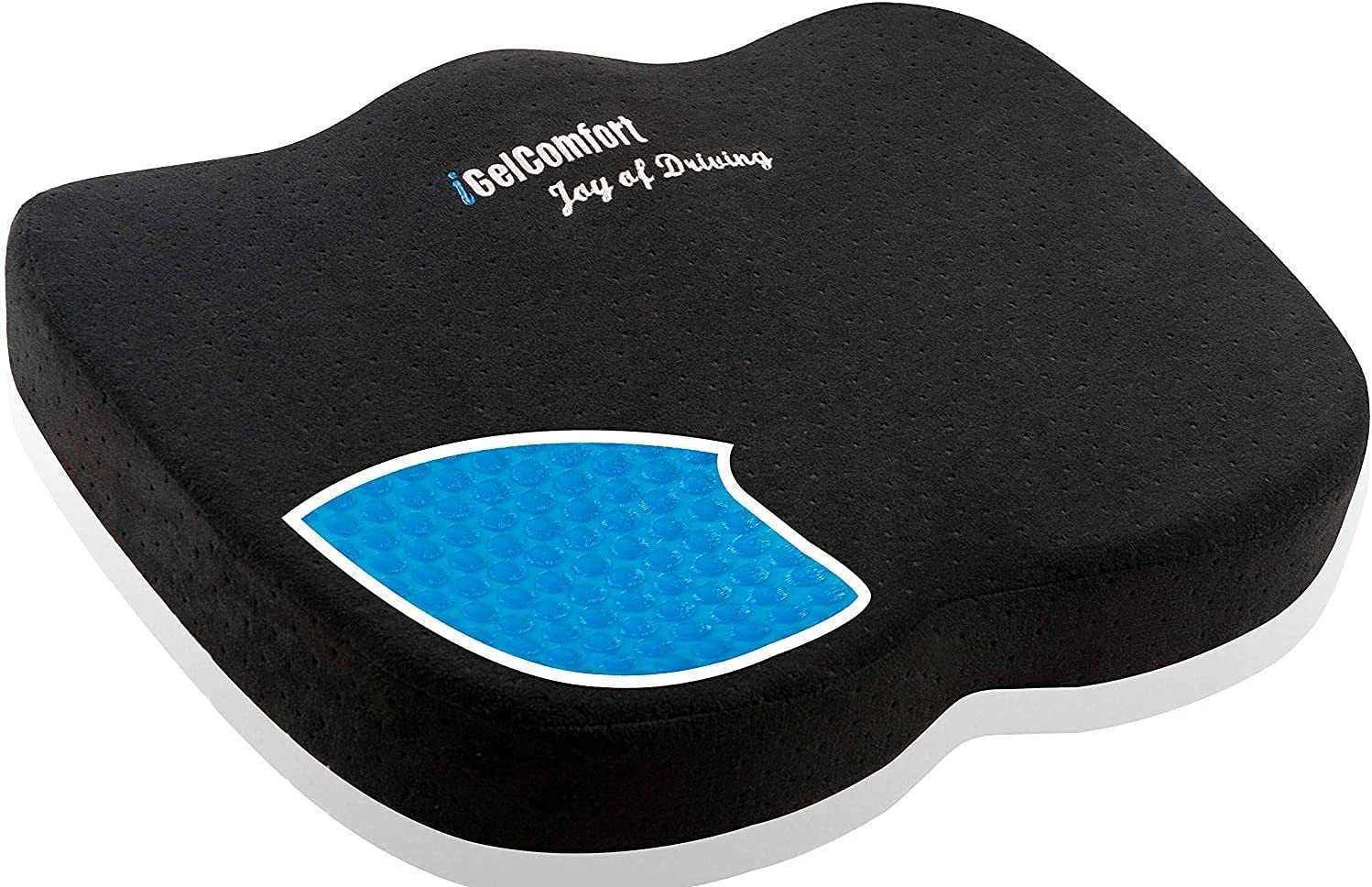 Sojoy Gel Memory Foam Cheap mail Trust order specialty store Seat Cushion and Back Pain Ta Relief for