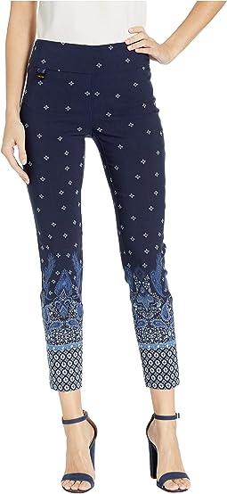 Delft Paisley Ankle Pants