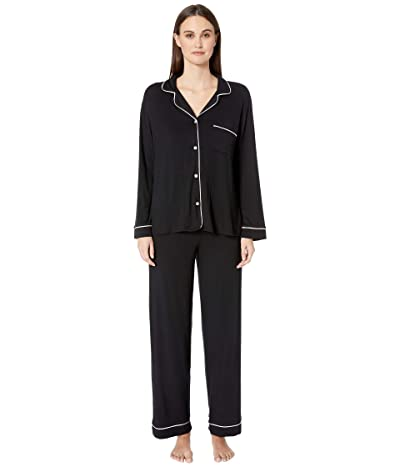 Eberjey Gisele PJ Set (Black/Sorbet) Women