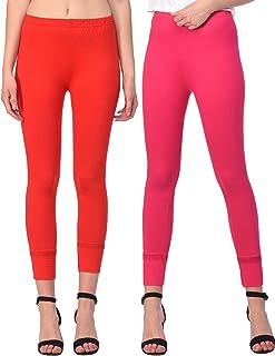 Sangani Women's Skinny Fit Leggings (Pack of 2)