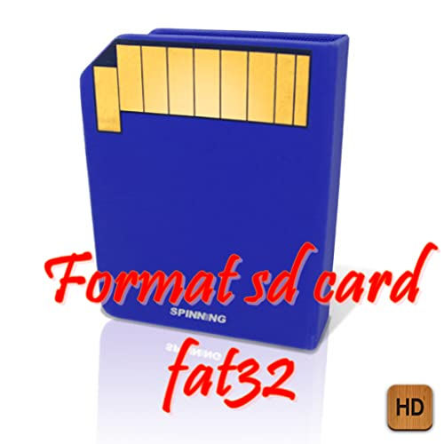 Format sd card fat32