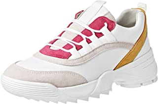 Dune London Esmarelda Sneaker For Women, Pink, 37 EU