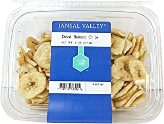 Jansal Valley Dried Banana Chips, 8 Ounce