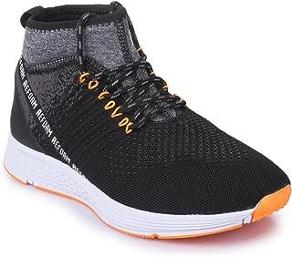 REFOAM Men's Black Sport Shoes