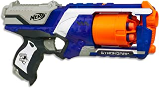 NERF Elite - Strongarm Blaster inc 6 Official Elite Darts  - Kids Toys & Outdoor Games - Ages 8+
