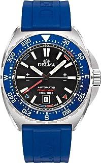 DELMA - Oceanmaster Reloj para Hombre Analógico de Cuarzo con Brazalete de Goma 41501.670.6.048