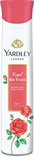 Yardley London Royal Red Roses Refreshing Deo For Women, 150ml