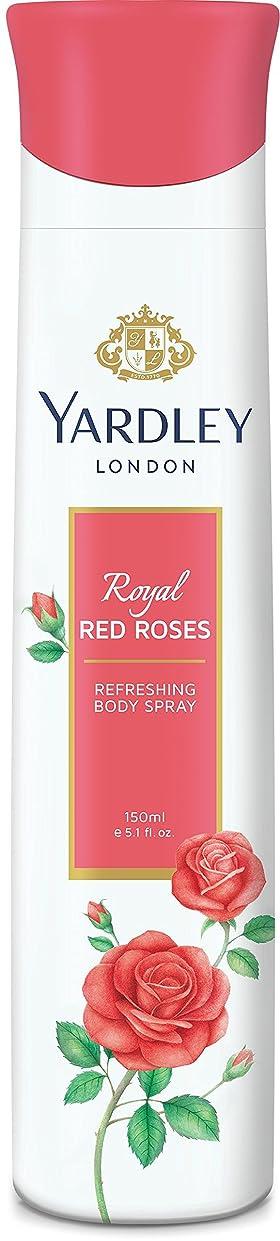 賄賂バルコニーレンズYardley London Refreshing Body Spray Royal Red Roses 150ml