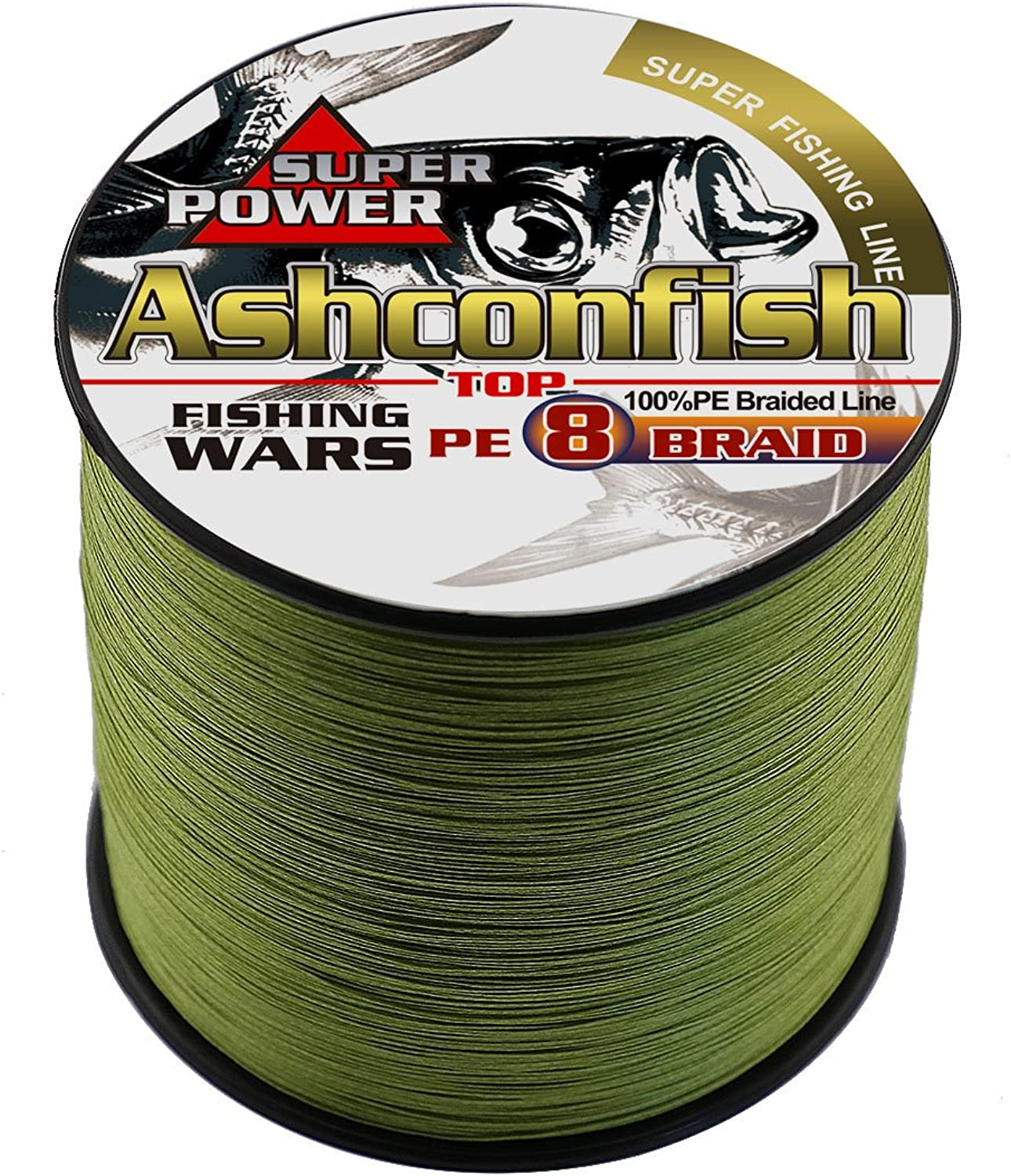 Ashconfish Braided Fishing Line8 Strands Super Strong PE Fishing Wire 1000M 1093YardsAbrasion Resistant Braided LinesZero StretchSmall Diameter Fishing Thread