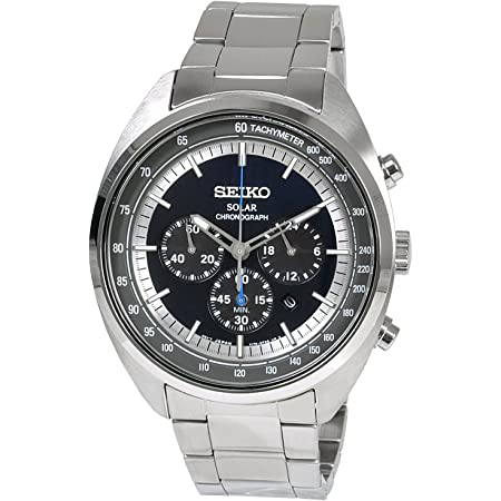 [セイコー] SEIKO 腕時計 ソーラー クロノグラフ クオーツ SSC619P1 ネイビー メンズ 海外モデル [逆輸入品]
