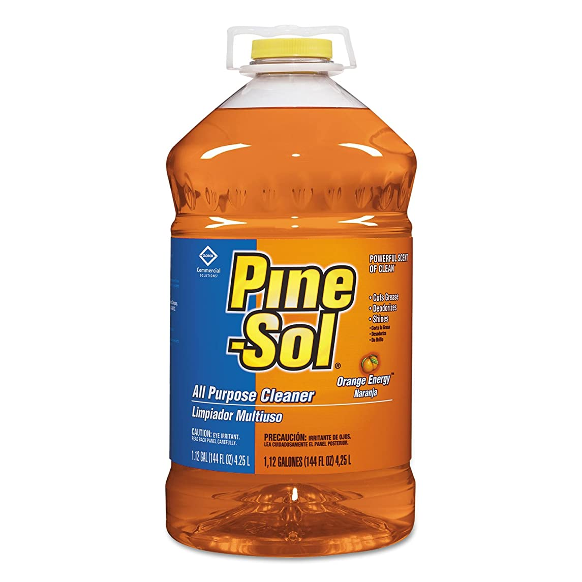 Pine-Sol All-Purpose Cleaner, Orange Scent, 144 oz. Bottle, 3/Carton