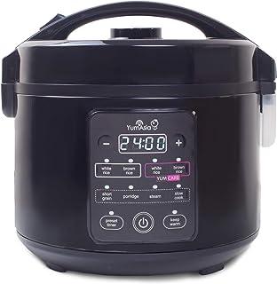 Yum Asia Kumo YumCarb Cuiseur à riz avec bol en céramique et logique floue avancée, (5,5 tasses, 1 litre), 5 fonctions de ...