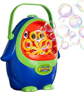 Vtopmart Automatic Bubble Machine with Bubble Solution for Kids Toddlers, Penguin Bubble Blower Maker for Party, Wedding, Outdoor Indoor Games, Battery Operated (Not Included)