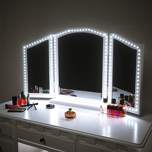 Vanity Mirror With Lights For Bedroom Amazon Com