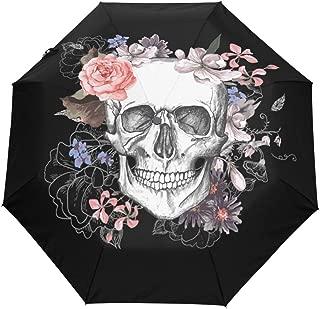 3 Folds Auto Open Close Umbrella