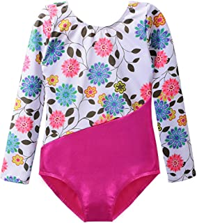 DAXIANG Long Sleeve Leotard for Girls Gymnastics Dance Ballet Clothing 2-15Years
