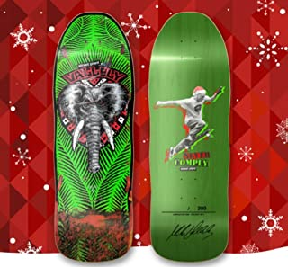 Street Plant Mike Vallely Public Domain Holiday Skateboard Deck Signed LTD Run of 200