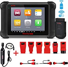 Autel MaxiSys MS906BT Automotive Scan Tool Car Diagnostic Scanner with ECU Coding, Active Test, IMMO Keys, OE-Level Diagnosis Oil Reset, EPB, SAS, DPF, TPMS, ABS Bleeding MV108 Add-On
