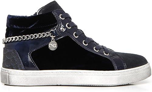 Nero giardini sneakers teens ragazza in camoscio A732470F 200
