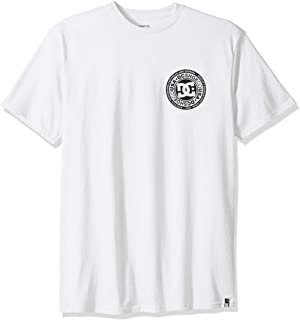 DC Men's Circle Star Fb Short Sleeve Tee Shirt