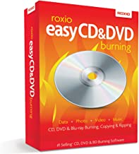 Roxio Easy CD and DVD Burning [PC Disc] [Old Version]