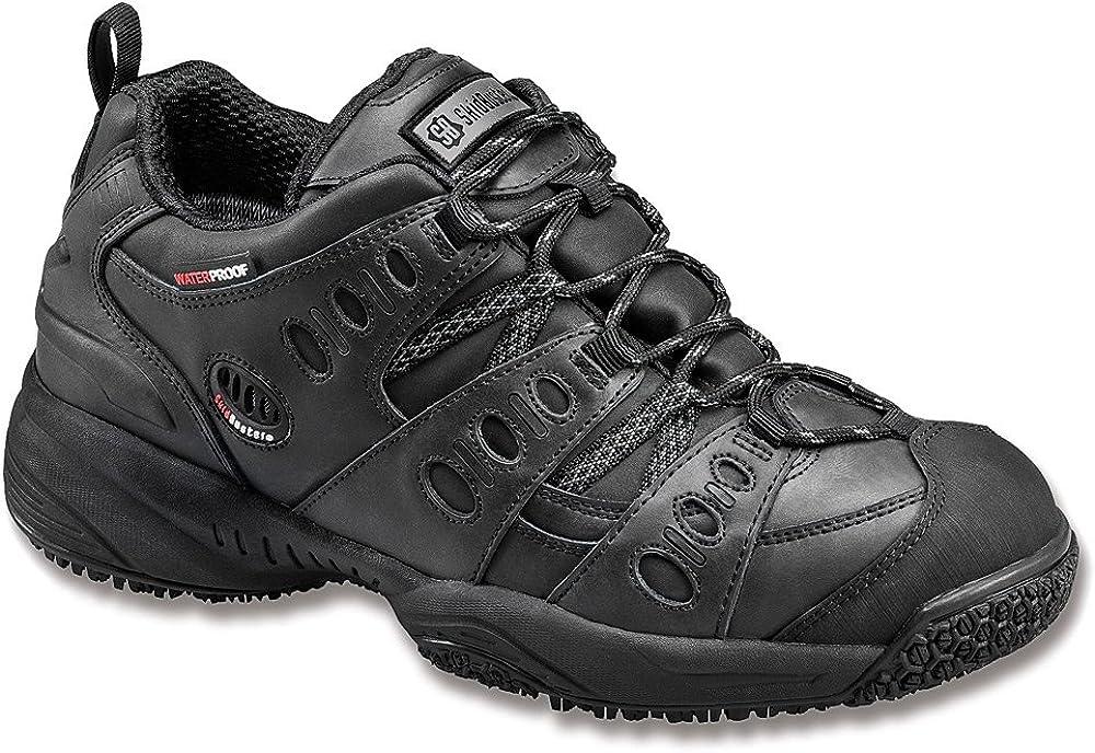 Skidbuster Mens Slip Resistant Waterproof Max 40% OFF Black M Leath It is very popular Athletic