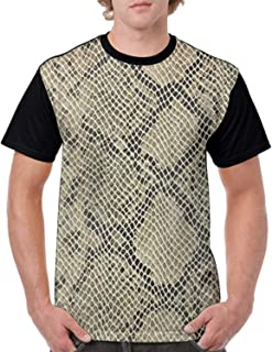 Bad Snake 3D Printed Graphic T Shirts Summer Casual Cool T-Shirts Fashion Couple Top Tees