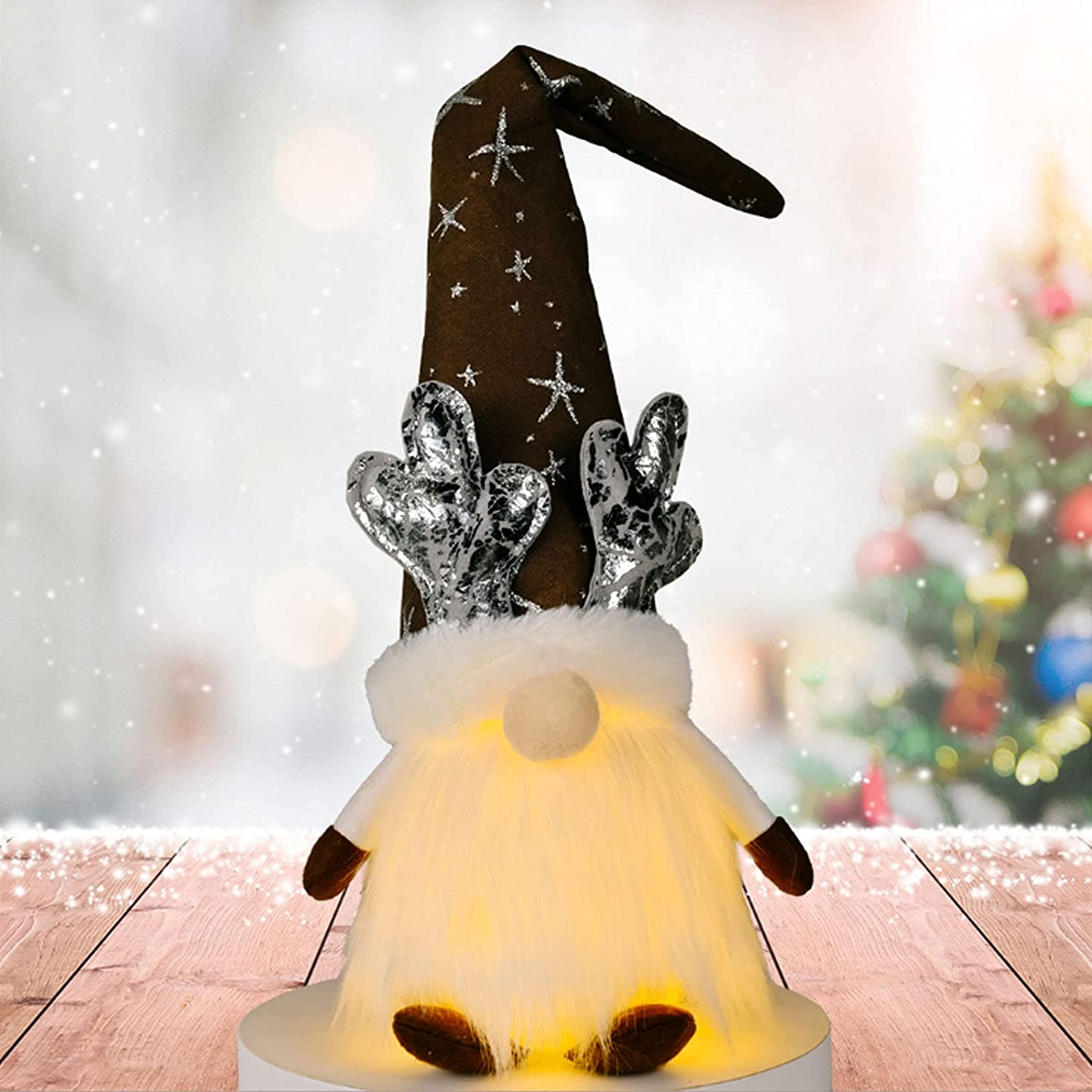 Challenge the lowest Shipping included price of Japan ☆ Christmas Gnome Swedish Decoration Glo Faceless Plush