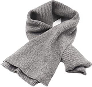 """State Cashmere Men's 100% Cashmere Solid Color Winter Wrap Scarf, Ultimate Soft and Cozy 70"""" x 7"""""""