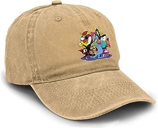XLBSFJIWVD Wander Over Yonder Unisex Classic Plain Baseball Cap Adjustable Dad Hats Black