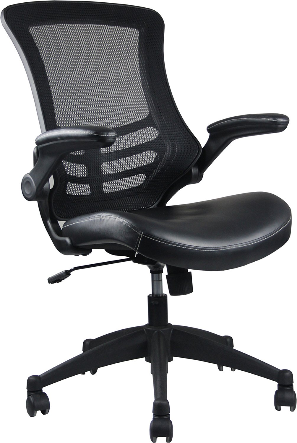 Stylish Mid Back Office Chair Adjustable