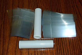 250 Clear Shrink Wrap Bands Sleeves for Lip Balm (Chapstick) Tubes Tamper Evident Safety Seal