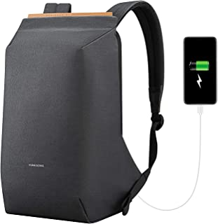 Sponsored Ad - Laptop Backpack, SITHON Slim Lightweight Anti Theft Business Travel Bag with USB Charging Port, Water Resis...