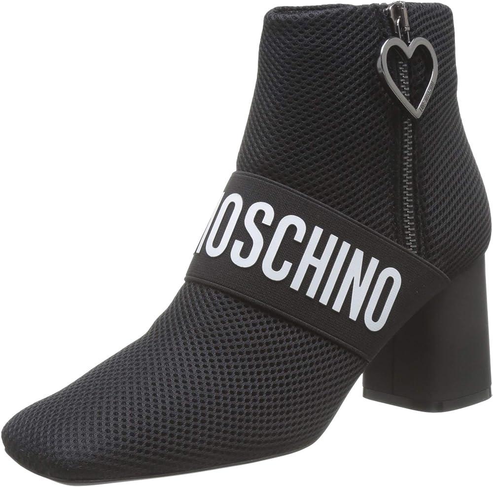 Love moschino scarpe polacchine da donna in pelle JA21027G1A