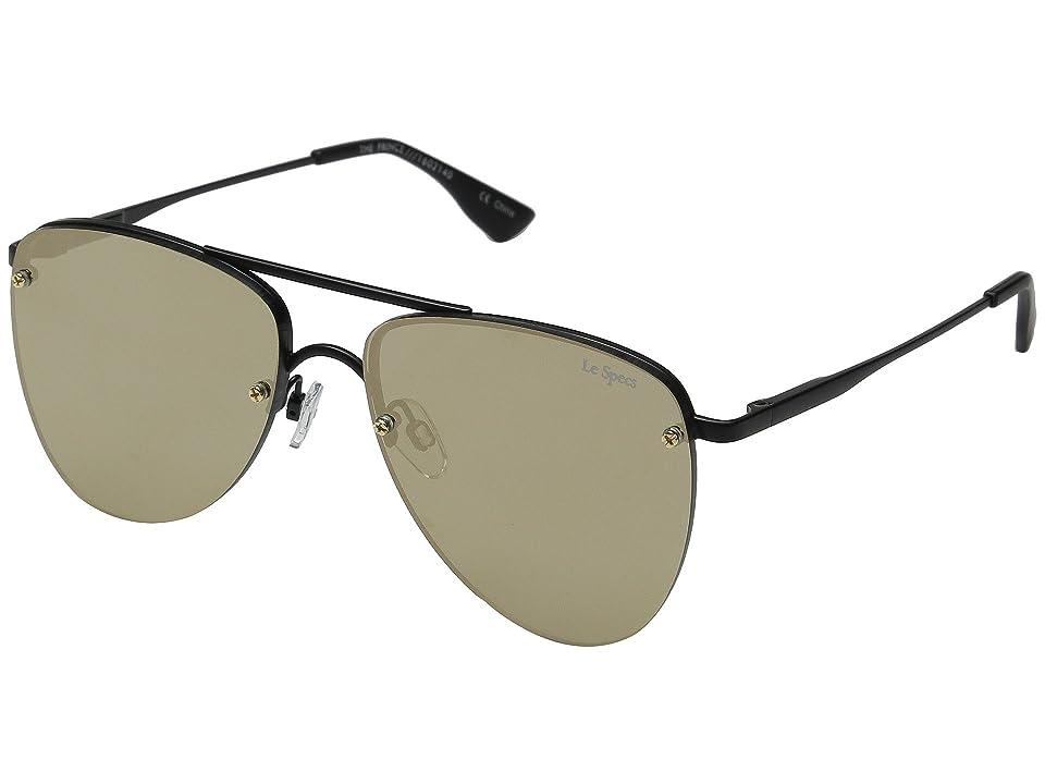 Le Specs The Prince (Matte Black) Fashion Sunglasses