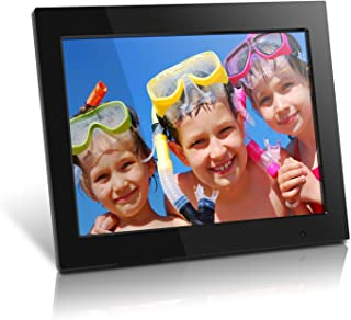 Aluratek (ADMPF315F) 15 Inch Digital Photo Frame - Black