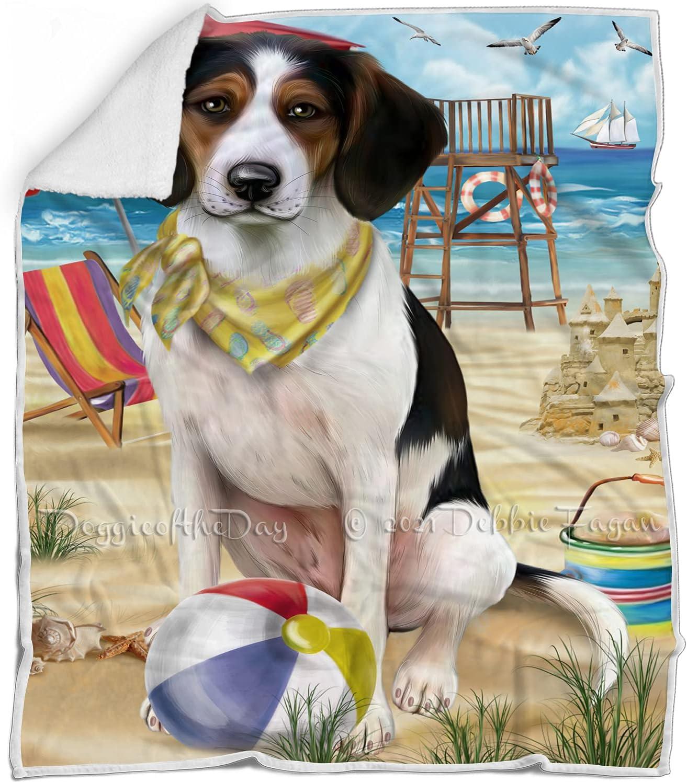 Pet Friendly Beach Treeing Walker Blanket Multic Superlatite Coonhound Dog - Popular brand