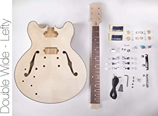 DIY Electric Guitar Kit - 335 Style LEFTY Build Your Own Guitar Kit