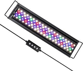 hygger Oświetlenie akwarium, oświetlenie LED, tryb 24/7 do światła księżyca, światło wschodu słońca, światło księżyca, reg...