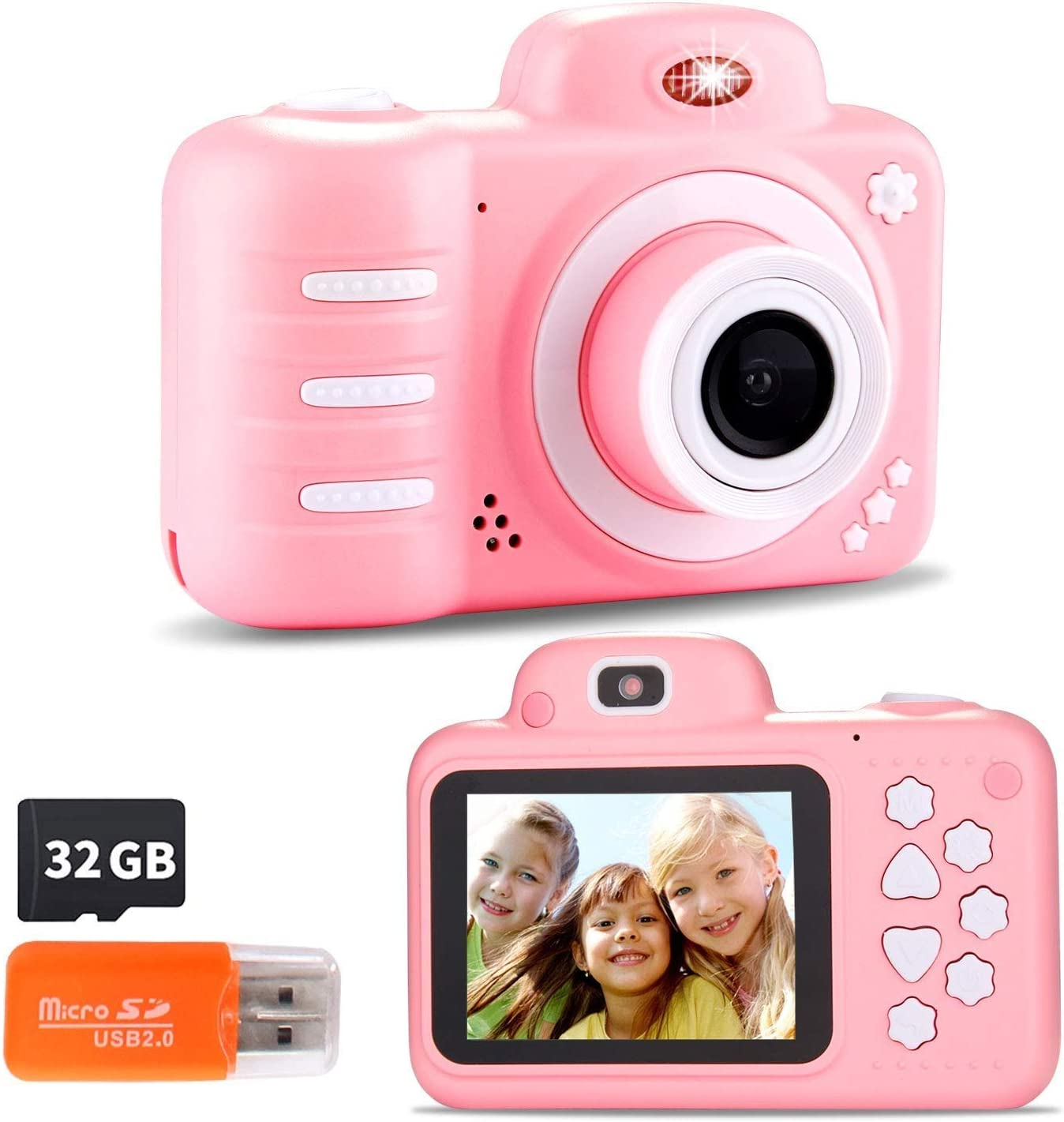 Limited Special Price NILINLEI 12MP Kids Camera with 2.4 Ranking TOP5 1080P Inch Large Screen