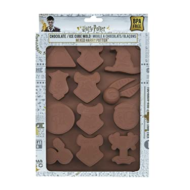 Harry Potter - Ice & Chocolate Cube Mold - Silicone - Official - Cinereplicas (Mixed Harry Potter)