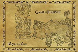 Best game of thrones map poster Reviews