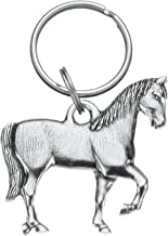 product image for DANFORTH - Horse Keyring - Pewter - 2 Inches - Key Fob - Handcrafted - Made in USA