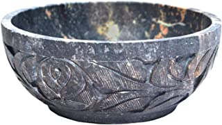 Nirvana Class Handmade Soapstone Scrying and Smudge Bowl (Scrying - Bowls & Mirrors) Home Decor