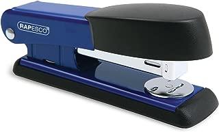 Rapesco - Grapadora metálica Bowfin, 25 hojas de capacidad, usa grapas 26 y 24/6mm, color azul