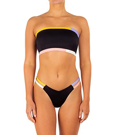 Hurley Color-Block V Front Cheeky Bottoms