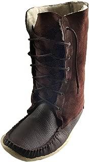 Laurentian Chief Men's Moccasin Boots Sheepskin Lined 13
